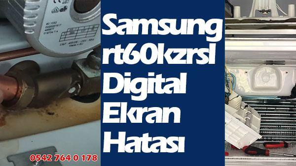 Samsung rt60kzrsl Digital Ekran Hatası