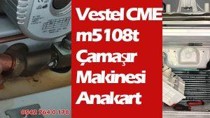 Vestel CME m5108t Çamaşır Makinesi Anakart