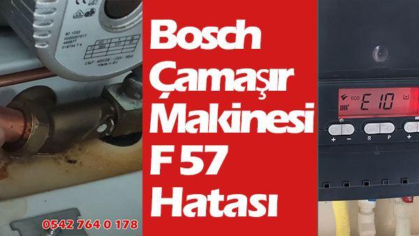 Bosch Çamaşır Makinesi F57 Hatası Nedir