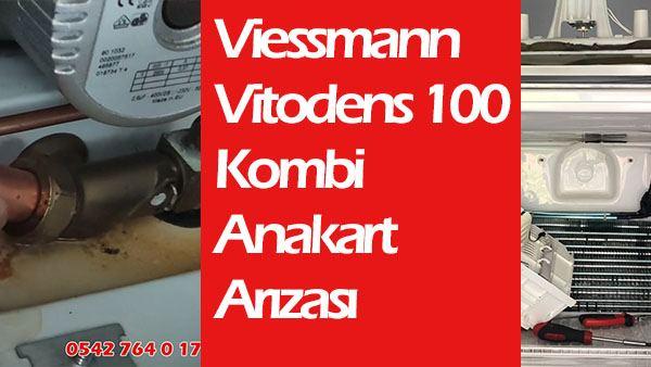 viessmann vitodens 100 anakart arızası ve tamiri