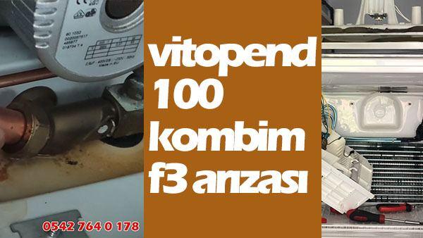 Viesmann Vitopend 100 f3 Arızası Nedir