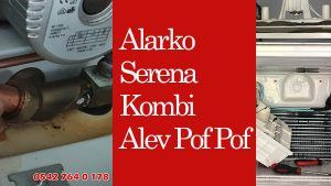 Alarko Serena Kombi Alev Pof Pof