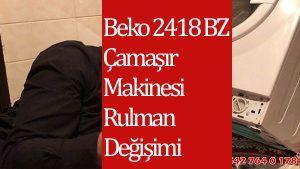 Beko 2418 BZ Çamaşır Makinesi Rulman Değişimi