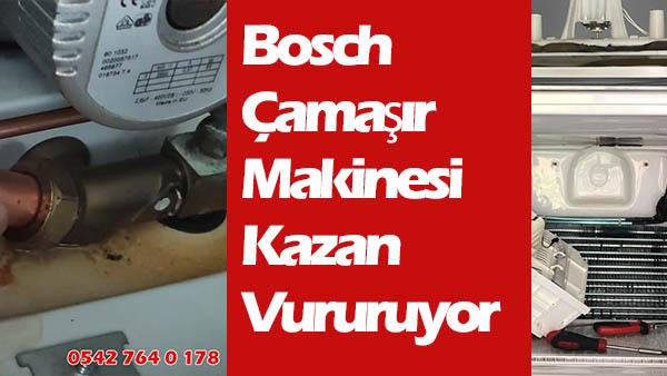 Bosch Çamaşır Makinesi Kazan Vururuyor Neden
