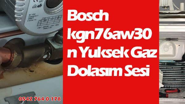 Bosch kgn76aw30n Yuksek Gaz Dolaşım Sesi